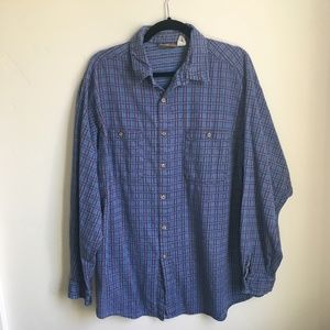 Patagonia Long Sleeve Plaid Shirt